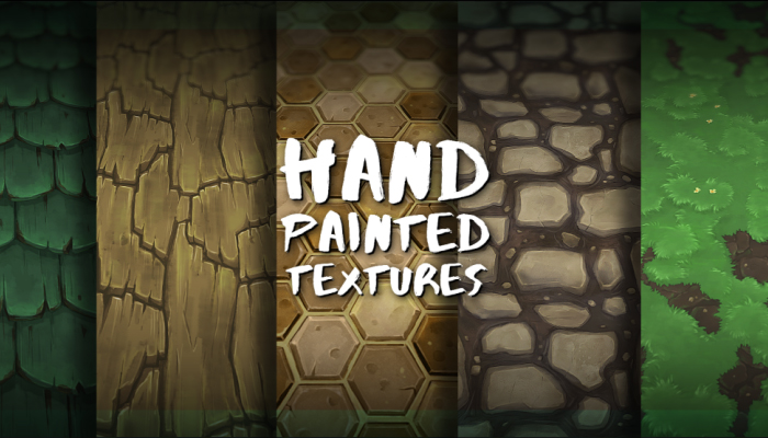Hand Painted Textures Thegameassetsmine