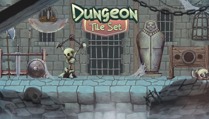 Dungeon Tile Set Thegameassetsmine