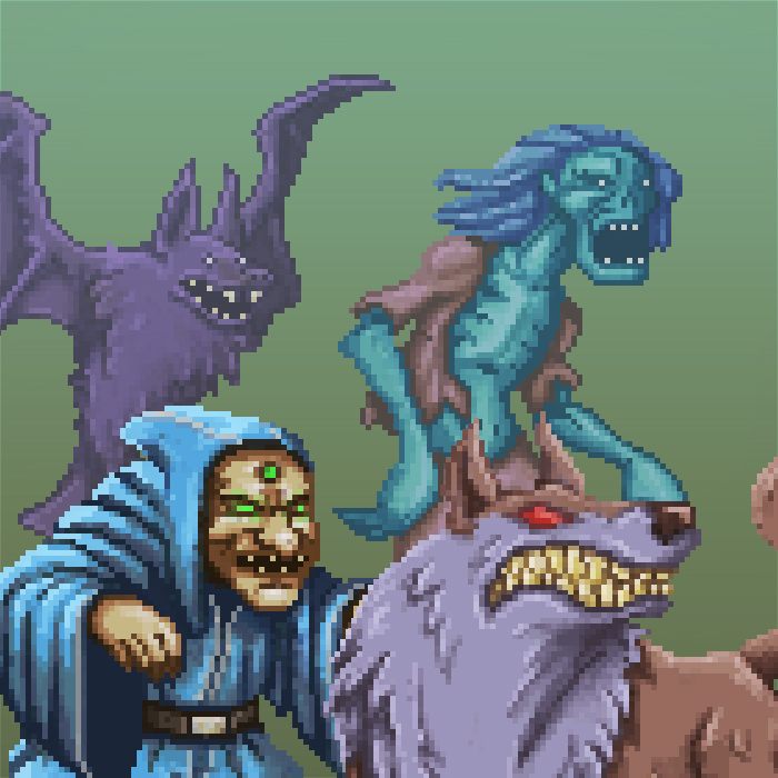 RPG Monster Sprites